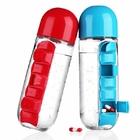 Бутыль с таблетницей