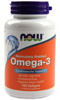 NOW Foods Omega-3 1000 mg (100 капс)
