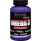 Ultimate Nutrition Omega 3 18:12 1000mg (180капсул )