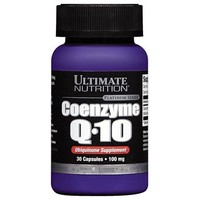 Ultimate Nutrition Coenzyme Q10 100% Premium 100 mg (30 капс)