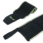 Бинты кистевые FitRule Light черн-зел (50 см)