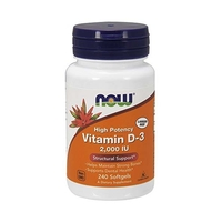 NOW Vitamin D-3 2000 ME (240 капс)