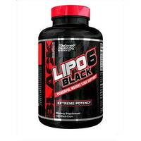 Nutrex Lipo 6 Black (120 капсул)