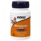 NOW Melatonin 3 mg (60 капс)