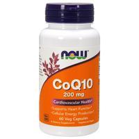 NOW CoQ10 200 mg (60 капс)
