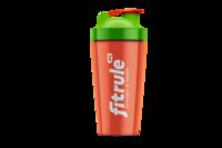Шейкер FitRule классический оранжево-зеленый (700 мл)